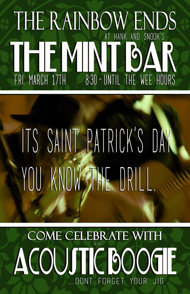 Acoustic Boogie Performing live at The Mint Bar in Norfolk, Nebraska 