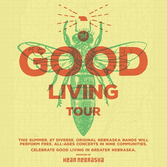 Live Music at Hear Nebraska - The Good Living Tour in Norfolk, Nebraska - 