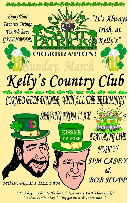 Saint Patrick's Day Celebration at Kelly's Country Club in Norfolk, Nebraska 