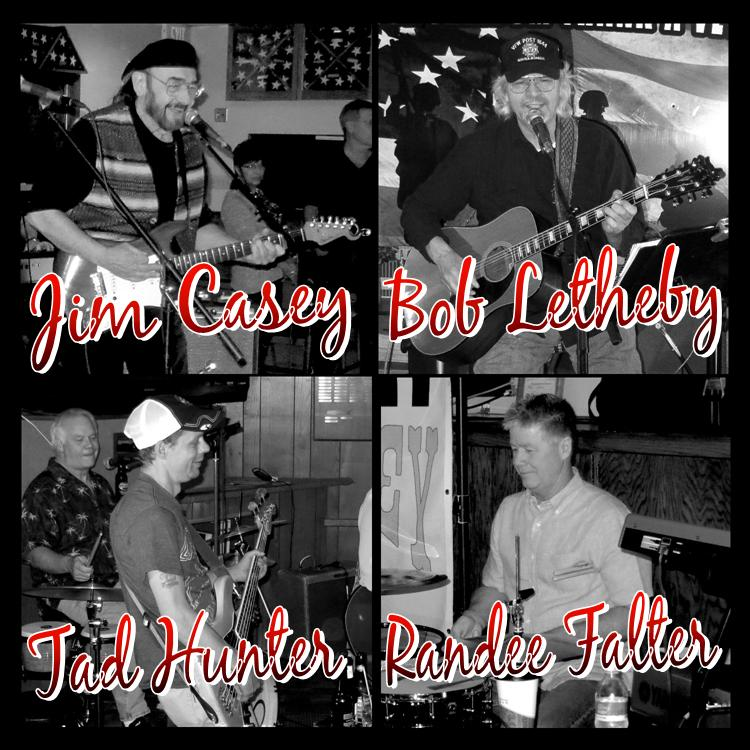 Live Music concert and dance featuring Bob Letheby, Jim Casey, Tad Hunter, & Randee Falter at 