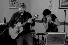 Northeast Nebraska Musicians Acoustic Boogie performing live at The Mint Bar in Norfolk, NE
