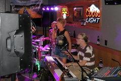 Northeast Nebraska Band County Road performing live at Mel's Package & Lounge in Norfolk, NE