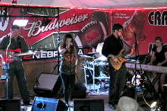Norfolk Nebraska Band County Road performing live at Mrs. Bubba's in Randolph, NE