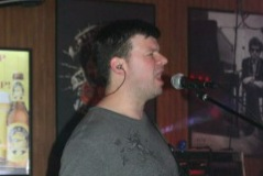 Nate Marik from Northeast Nebraska Band Frequency performing live at Shenanigans in Columbus, NE