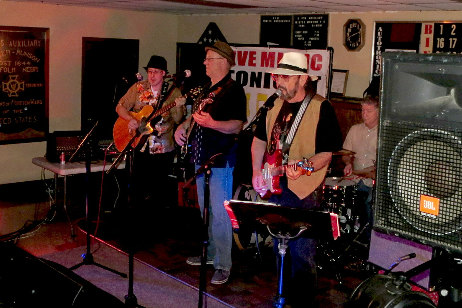 Live Music featuring Jim Casey, Nick Leland, & Matt Casey at Norfolk VFW in Norfolk, Nebraska - 