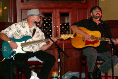 Northeast Nebraska Musicians Jim Casey & Don Petersen performing live at J's Steakhouse & Winebar in Norfolk, NE