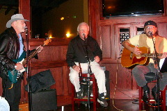 Northeast Nebraska Musicians Jim Casey, Don Petersen & Bob Hupp performing live at J's Steakhouse & Winebar in Norfolk, NE