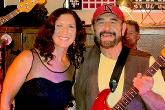 Northeast Nebraska Musician Jim Casey & Jessie Casey Clark performing live at the Nebraska Rocks Pre-Show held at the Norfolk VFW in Norfolk, NE