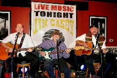 Northeast Nebraska Musicians Jim Casey, Don Petersen & Matt Casey performing live at Bailey's Bistro & Lounge in Norfolk, NE